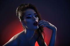 Mulheres ideais da forma da cor foto de stock royalty free