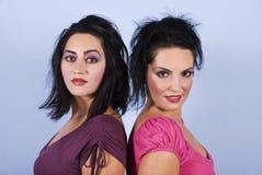 Mulheres lindos da beleza Fotografia de Stock