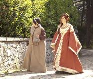 Mulheres medievais Fotografia de Stock Royalty Free