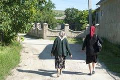Mulheres moldavas fotografia de stock