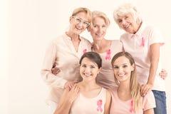 Mulheres Multigenerational e campanha imagem de stock royalty free