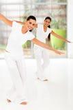 Classe de dança da aptidão Imagem de Stock Royalty Free