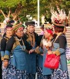 Mulheres nativas nativas em Taiwan foto de stock royalty free