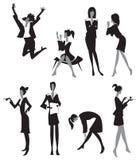 Mulheres no escritório ilustração stock