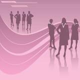 Mulheres no negócio ilustração royalty free