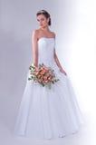 Mulheres no vestido de casamento Imagem de Stock