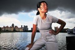 Mulheres nos esportes 2 Imagem de Stock