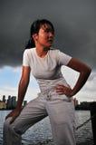 Mulheres nos esportes 5 Imagem de Stock Royalty Free