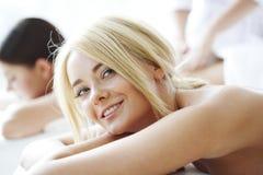 Mulheres nos termas Imagem de Stock