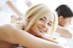 Mulheres nos termas Fotografia de Stock