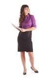 Mulheres novas com portátil fotos de stock royalty free
