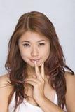 Mulheres novas - expressão Fotografia de Stock