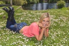 Mulheres novas saudáveis Fotos de Stock Royalty Free