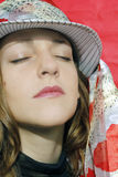 Mulheres que sunbathing Foto de Stock