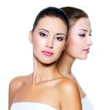 Mulheres 'sexy' bonitas do reboque Fotografia de Stock