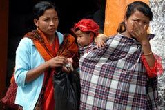 Mulheres tribais de Khasi em India fotografia de stock