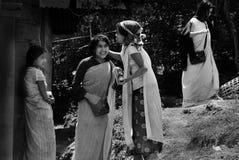 Mulheres tribais de Khasi em India do nordeste Imagens de Stock
