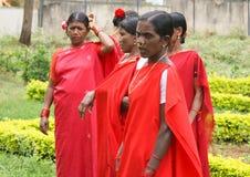 Mulheres tribais, Idia Fotografia de Stock Royalty Free