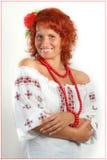 Mulheres ucranianas de sorriso Imagem de Stock Royalty Free