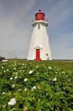 Mulholland Point Lighthouse, Campobello Island (Ca. Mulholland Point Lighthouse, Campobello Island in Canada stock image