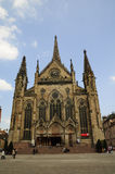 Mulhouse cathedral (France) Stock Photos