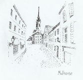 Mulhouse (Frances) Photos stock