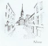 Mulhouse (Francia) Fotografie Stock