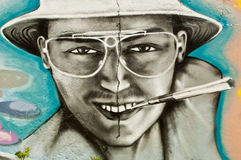 Mulhouse, Francja, Maj 2014 - miastowa sztuka - Obrazy Royalty Free