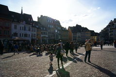 Mulhouse Square Royalty Free Stock Images