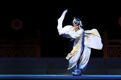 Mulian Drama of Chinese Qi opera performer Royalty Free Stock Photo