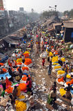 Mulik Ghat Flower Market 2 Stock Image