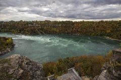Mulinello di cascate del Niagara Fotografie Stock Libere da Diritti