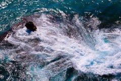 Mulinello nel mare Immagine Stock