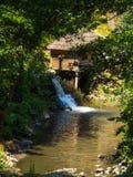 Mulini a acqua sul fiume di nera Caras Severin Fotografia Stock Libera da Diritti