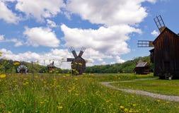 Mulini di vento Fotografie Stock
