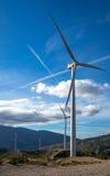 Mulini di vento Fotografia Stock