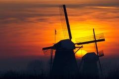 Mulini a vento Fotografia Stock Libera da Diritti