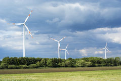 Mulini a vento. Fotografia Stock