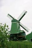 Mulini a vento di Zaanse Schans Immagini Stock