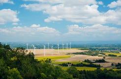 Mulini a vento in Francia Immagini Stock