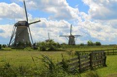 Mulini a vento olandesi Fotografia Stock