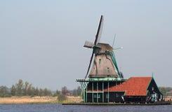 Mulini a vento olandesi in Zaanse Schans Immagine Stock