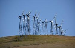 Mulini a vento per produzione di Electric Power Fotografie Stock Libere da Diritti