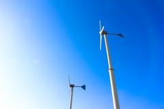 Mulini a vento per produzione di Electric Power Fotografia Stock Libera da Diritti