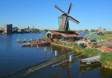 Mulini a vento storici di Zaanse Schans Immagine Stock