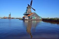 Mulini a vento storici di Zaanse Schans Fotografia Stock Libera da Diritti