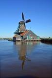 Mulini a vento storici di Zaanse Schans Immagini Stock