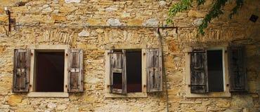 Mulino abbandonato vicino a Salino Immagine Stock