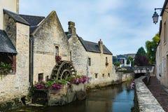 Mulino a acqua a Bayeux Fotografia Stock