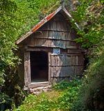 Mulino a acqua da Rudaria, Caras-Severin, Romania Fotografie Stock